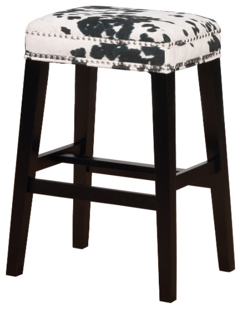 Remarkable Wood And Foam And Fabric Bar Stool Black Dailytribune Chair Design For Home Dailytribuneorg