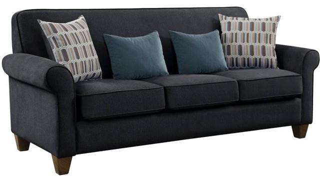 Coaster Fabric Sofa Graphite.