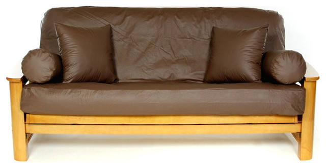Lambskin Brunette Full Futon Cover Fits