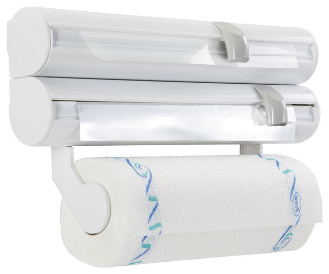 Leifheit Paper Towel and Wrap Holder - Paper Towel Holders | Houzz