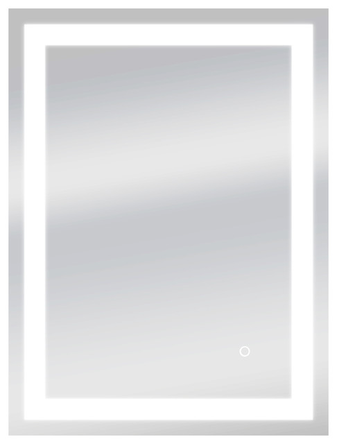 Dyconn Edison Bathroom LED Mirror, Touch Dimmer And Anti