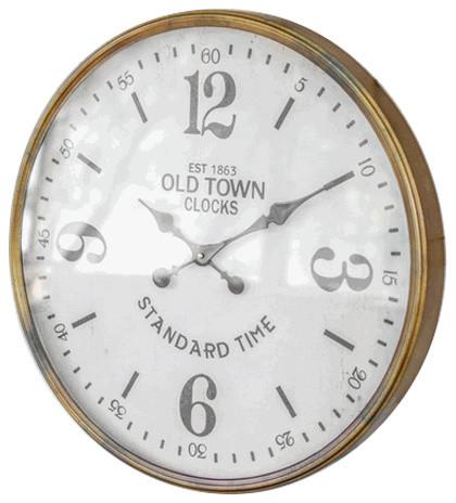 Kalalou Wall Clock Old Town Clocks Large Wall Clocks Houzz