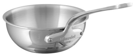 Curved Splayed Saute Pan.