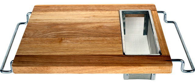 Over Sink Cutting Board Traditional Cutting Boards