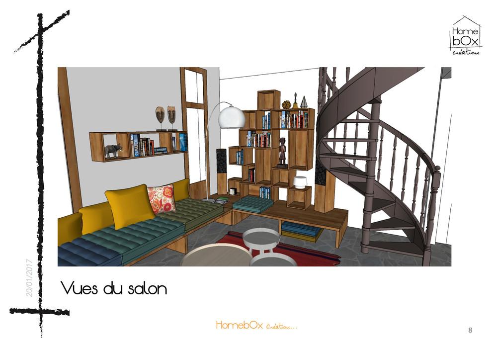 Maison de  Mr & Mme P /Conseil en aménagement/ EN COURS...