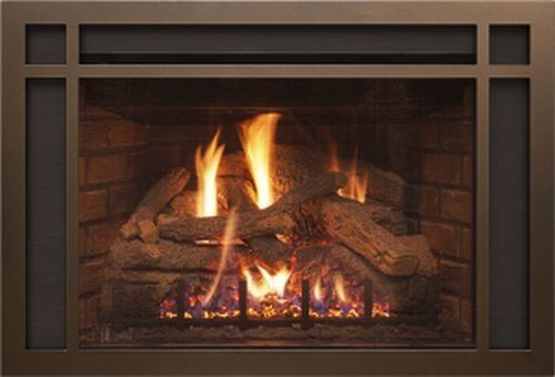 Burnham Faux Stone Infrared Electric Fireplace, White