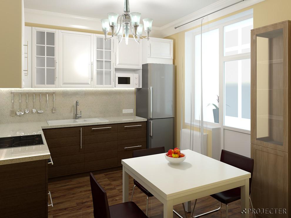 Кухня Икея Будбин в интерьере