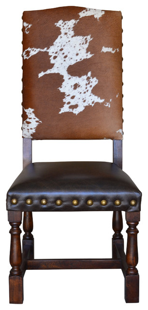Colton Cowhide Dining Chair Set Of 6.