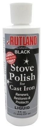 Liquid Stove & Grill Polish, 8 Fl Oz Bottle.