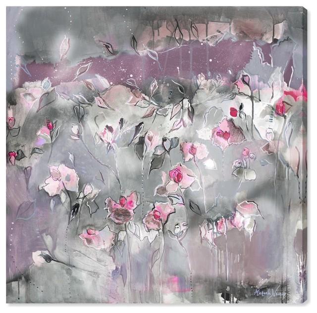 """Subtle Radiance Light"" Canvas Art Print by Michaela Nessim, 36x36 cm"