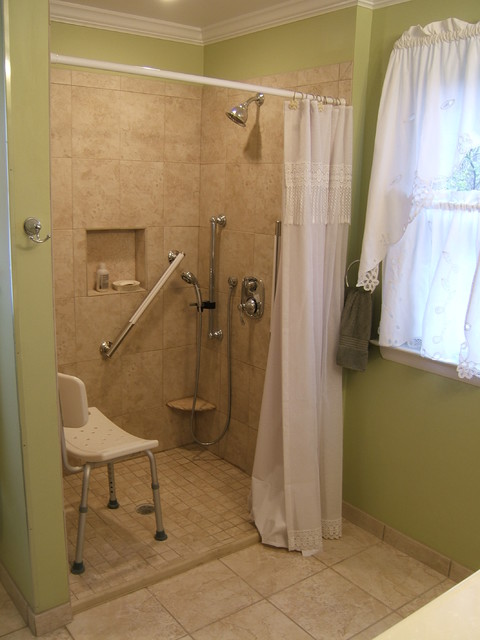 handicap accessible bathroom waldorf traditional - Handicap Accessible Bathroom