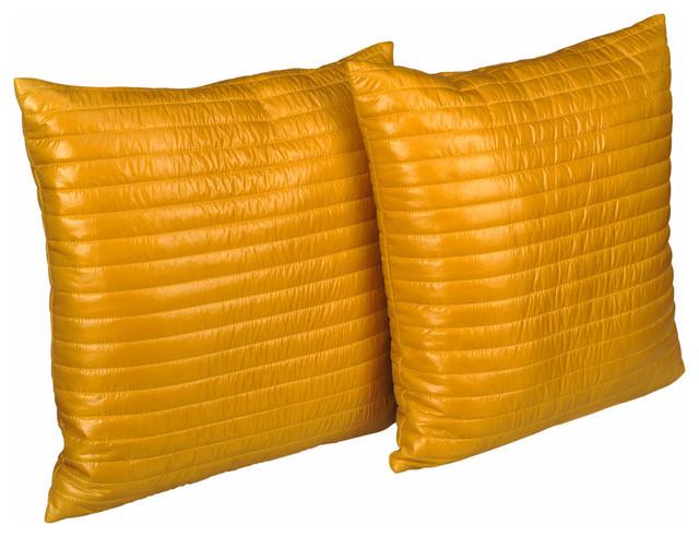 Ultra Modern Pillows : Shop Houzz Epoch Hometex PUFF Quilted Ultra Light Nylon Decorative Pillow - Decorative Pillows
