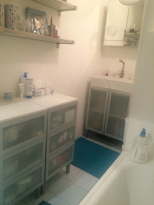 remplacer ma baignoire par une douche une machine laver. Black Bedroom Furniture Sets. Home Design Ideas