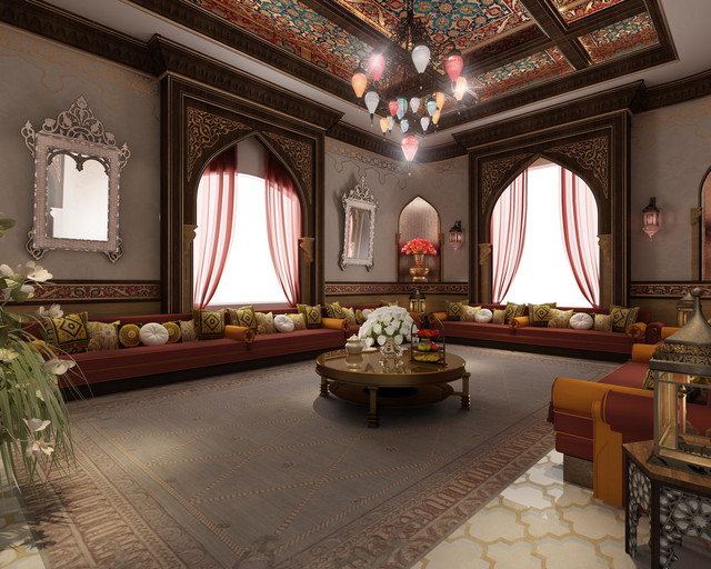 Arabic Living Rooms Majlis My Favorite Designs American Traditional Other By Casa Elan Luxury Home Interiors Dubai
