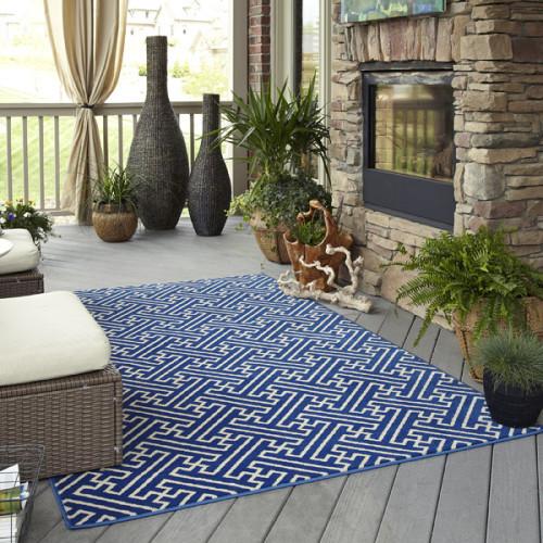 Mohawk Home Maze Wildaster Indoor Outdoor Rug Contemporary