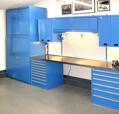 Joe Germann's Garage and Home office - Boston - by Lista ...