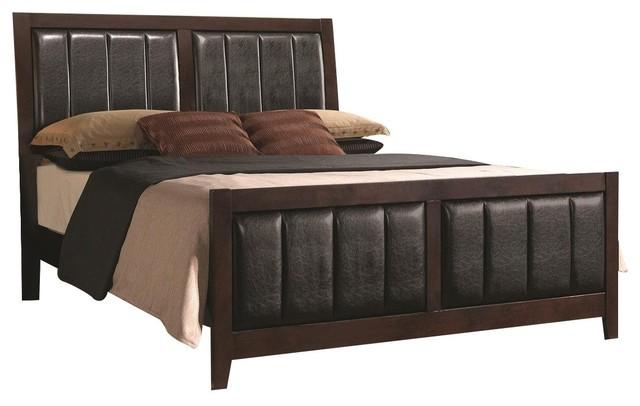 Coaster Carlton Queen Bed Cappuccino.