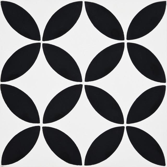 8 X8 Amlo Handmade Cement Tile White