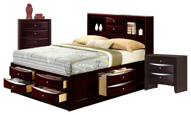 Madison King Storage, 3-Piece Set, King.