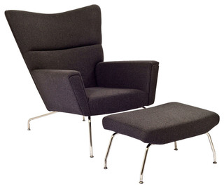 Class Lounge Chair - Midcentury - Armchairs And Accent Chairs - by Wholesale Living