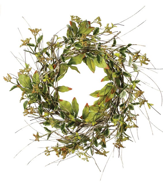 Birch And Berry Wreath.