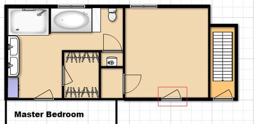 Master bathroom addition floor plan for Help me decorate my bathroom