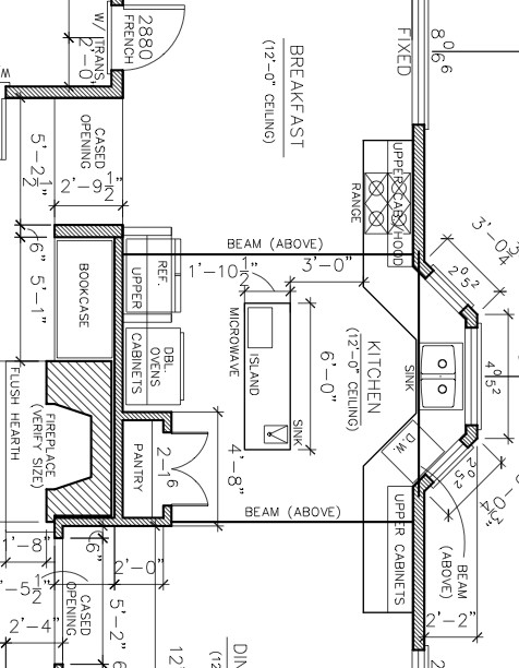 Need help with kitchen layout for I need a new kitchen layout