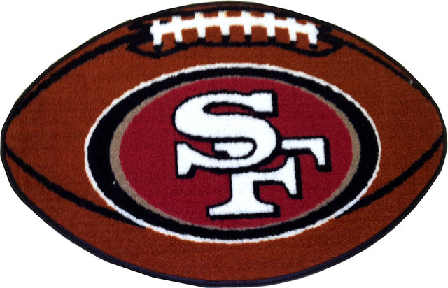 shop houzz fanmats nfl san francisco 49ers football. Black Bedroom Furniture Sets. Home Design Ideas