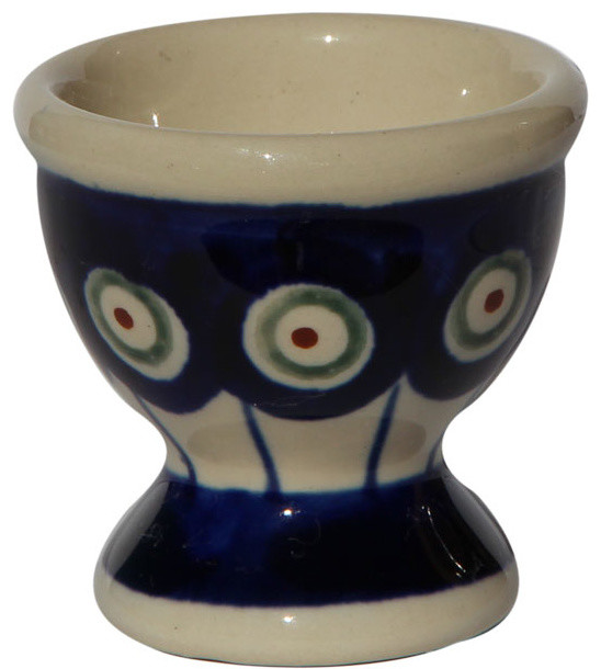 Polish Pottery Egg Cup Pattern Number 8