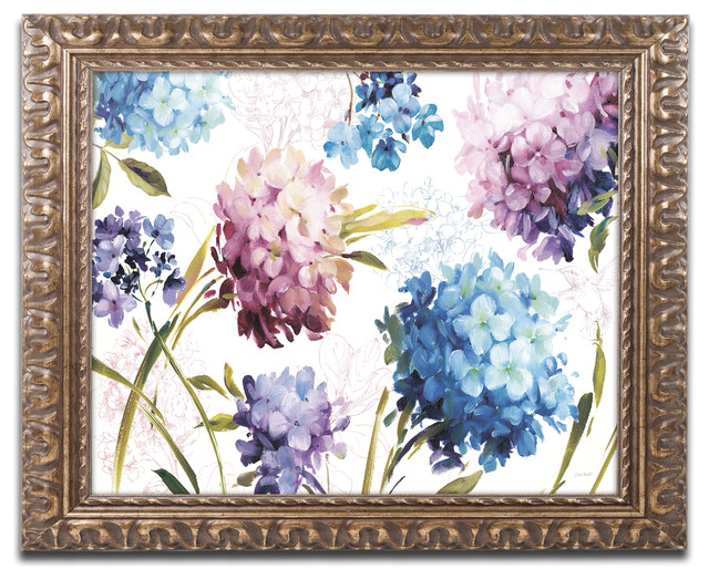 Spring Nectar I Laurie Ornate Framed Canvas Art By Lisa Audit Traditional Prints And Posters By Trademark Global
