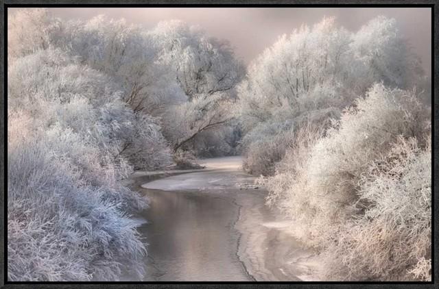 """""""winter Song"""" Artwork, 22""""x14.3""""."""