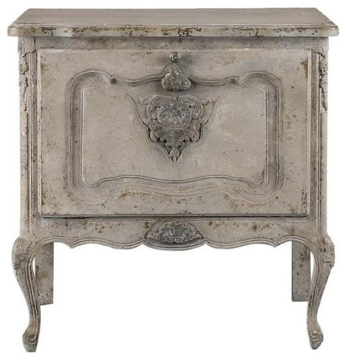 Beaumont Lane Aged Ivory Accent Chest