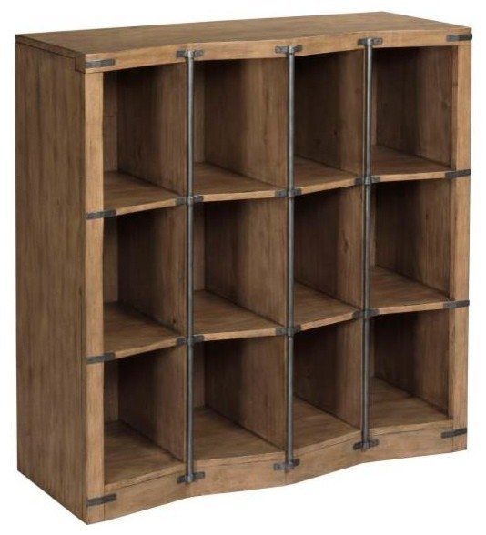 12-Cubbies Bunching Bookcase.