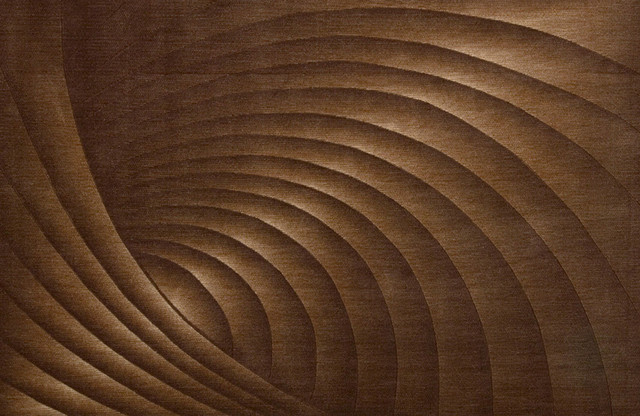 Somerset Chocolate Swirl Area Rug