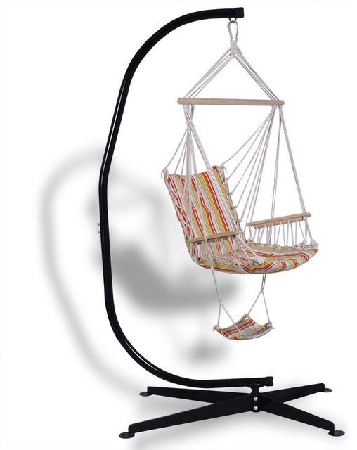 Swell Modern Solid Steel C Hammock Frame Stand Inzonedesignstudio Interior Chair Design Inzonedesignstudiocom