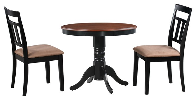 Brookline Small Kitchen Dining Table And Chairs Set Traditional Dining Sets By Dining Furniture