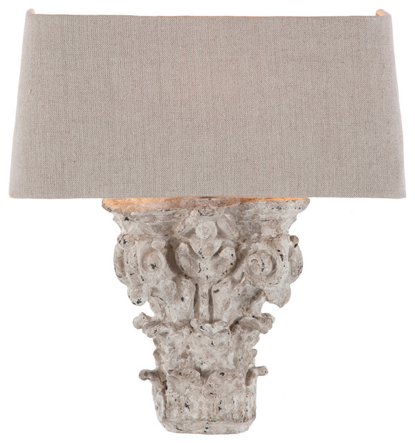 Marvelous Pair Francesca French Country Architectural Fragment Wall Sconces  Traditional Wall Lighting Nice Look