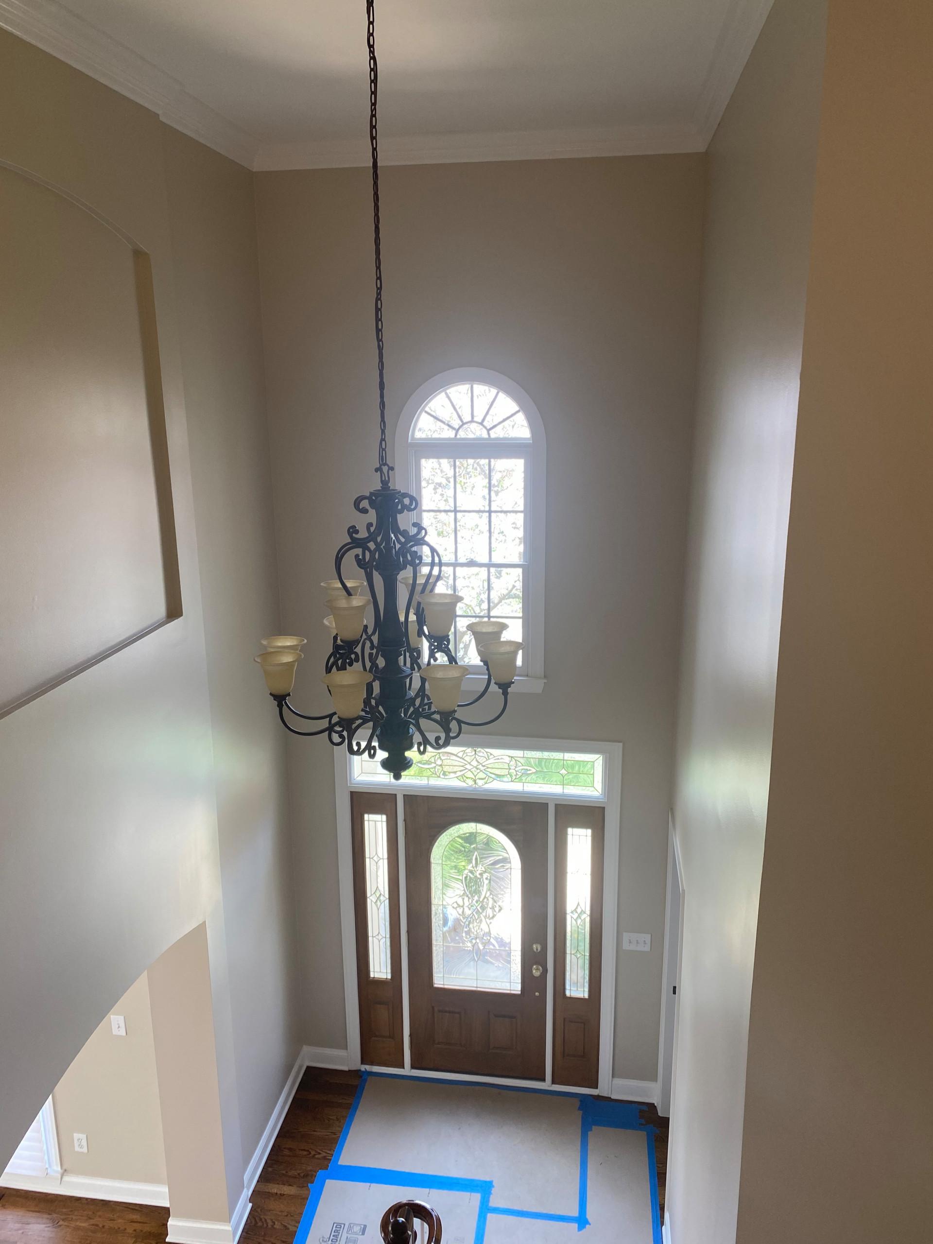 Interior Painting of Hallway