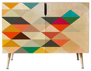 "Three of the Possessed South Credenza, 38""x20"""