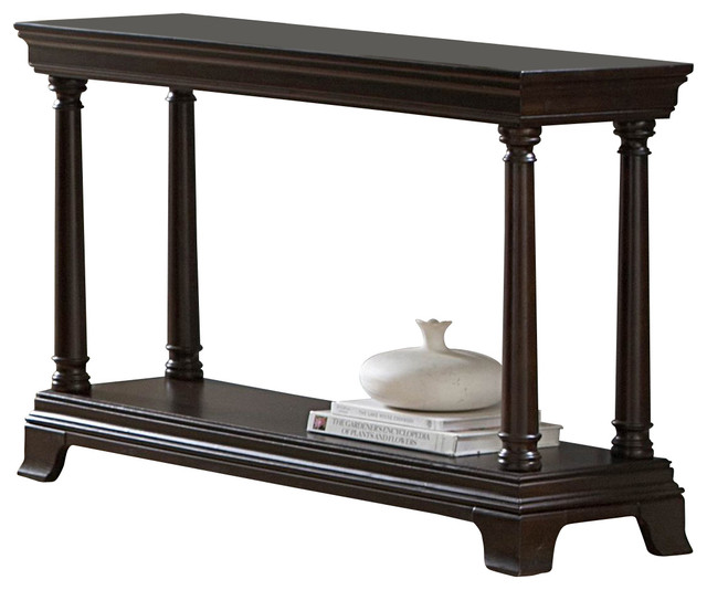 homelegance inglewood 48 inch sofa table in cherry traditional console tables by beyond stores. Black Bedroom Furniture Sets. Home Design Ideas