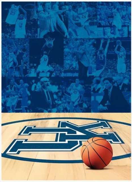 image regarding Printable Uk Basketball Schedule referred to as The Background Of Higher education Of Kentucky Basketball Print