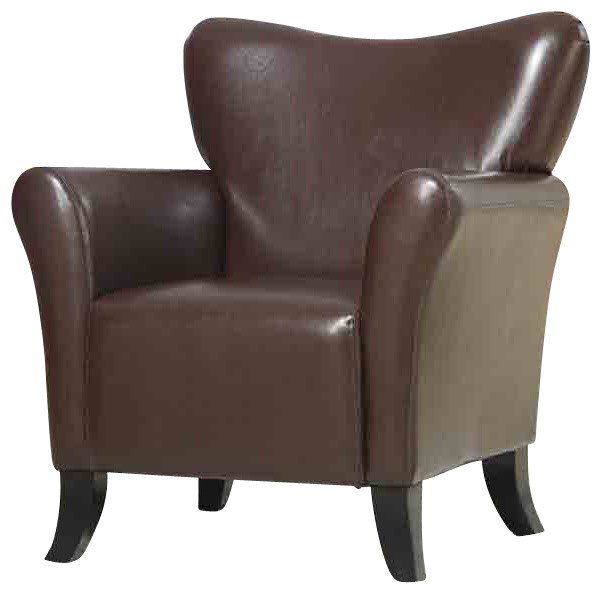 Coaster Accent Chair in Black Finish Contemporary