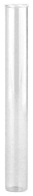 "Couronne Co. 8"" Thin Glass Tube Vase"
