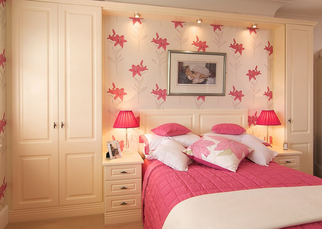Bespoke Bedroom In Built Furniture Wardrobe Bedside Cabinets Bed