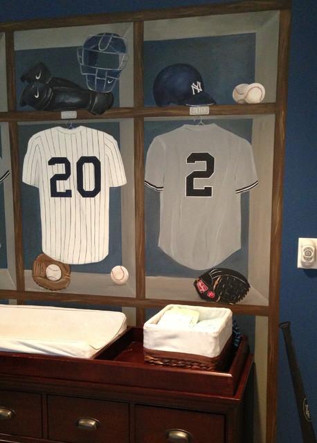 NY Yankees Nursery traditional-kids