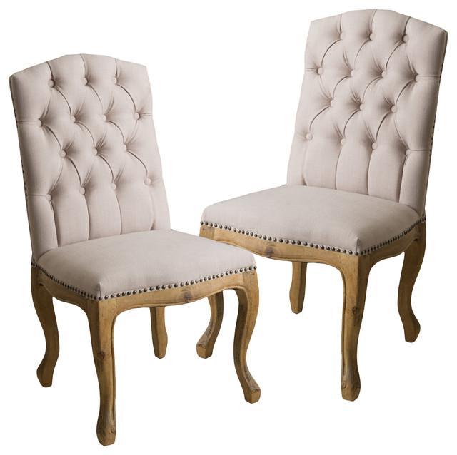 Dining Chairs jolie dining chairs, set of 2 - transitional - dining chairs -