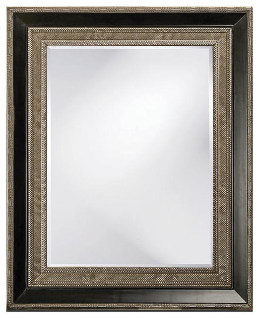Large Rectangular Wall Mirror arnaud rectangle mirror - transitional - wall mirrors -howard