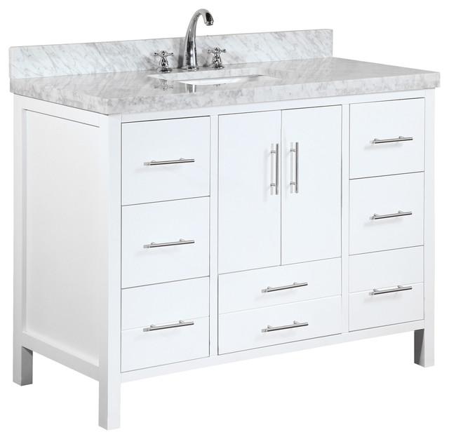 California Bath Vanity, Base: White, 48\