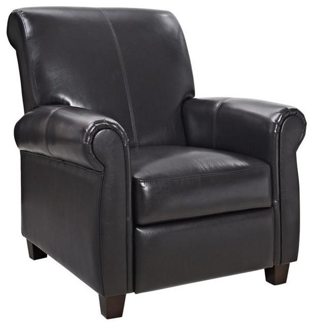 Tremendous Dorel Living Savannah Pushback Recliner In Espresso Bralicious Painted Fabric Chair Ideas Braliciousco