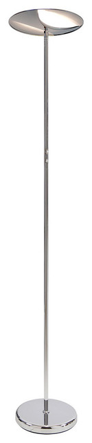 Voyeger 30w Up And Down, Dimmable Led Torchier Floor Lamp.